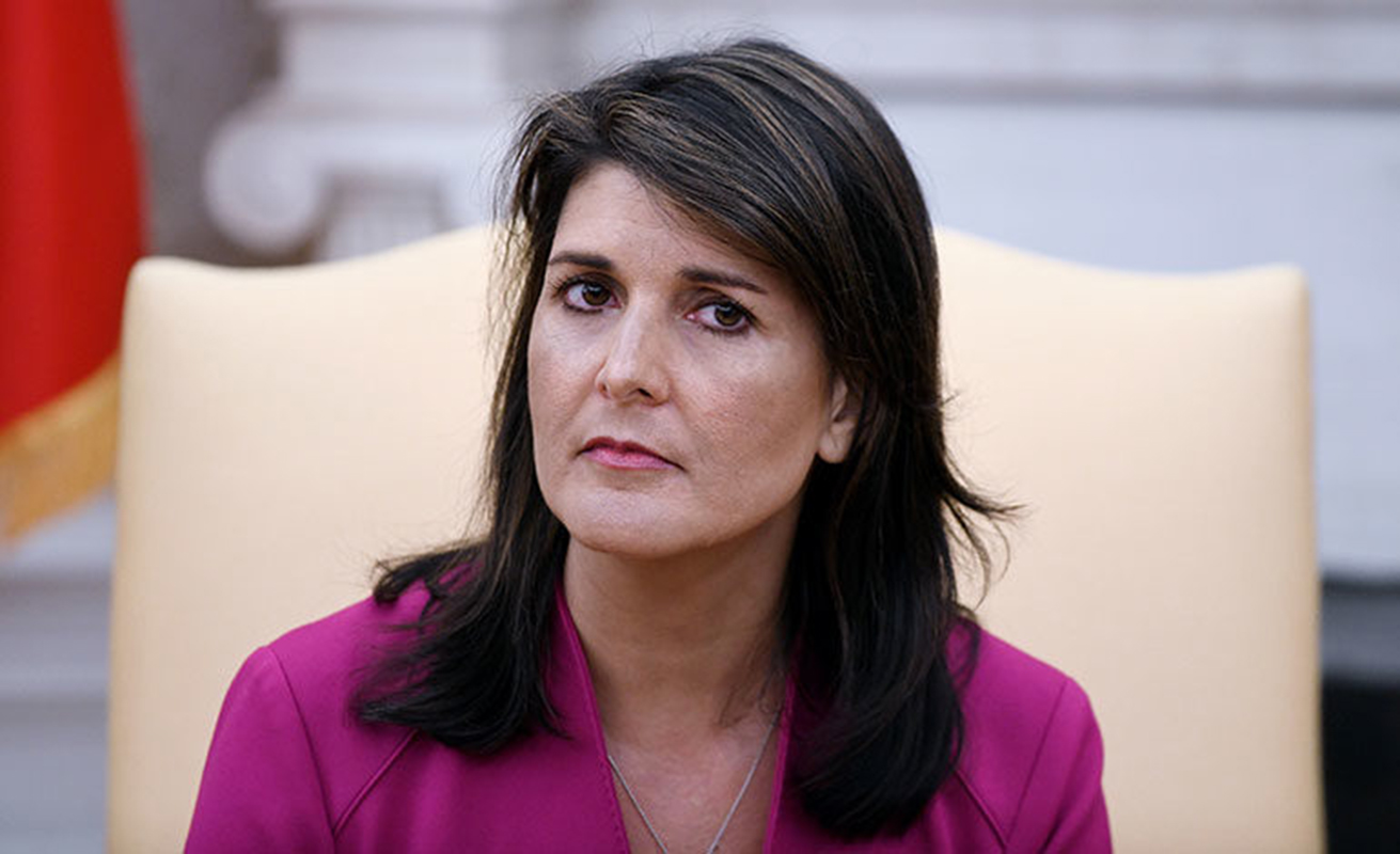 Nikki Haley dice