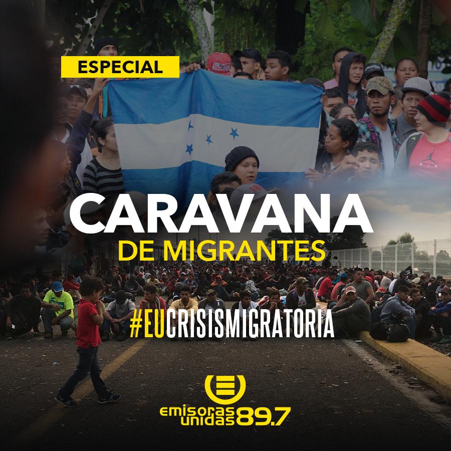 Honduras: caravana de migrantes