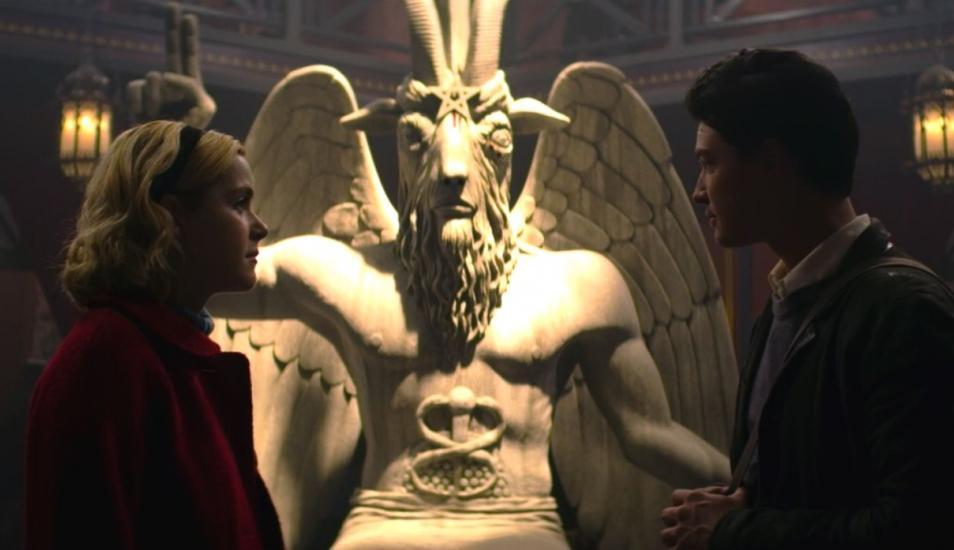 Templo Satánico El Mundo Oculto de Sabrina