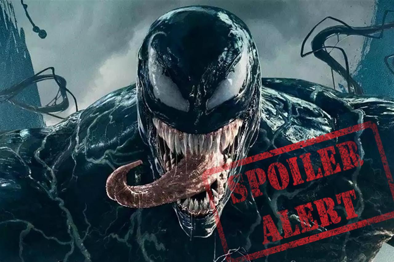 Venom Marvel cine Tom Hardy alerta spoiler