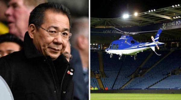 Video Vichai Srivaddhanaprabha Leicester City Premier League
