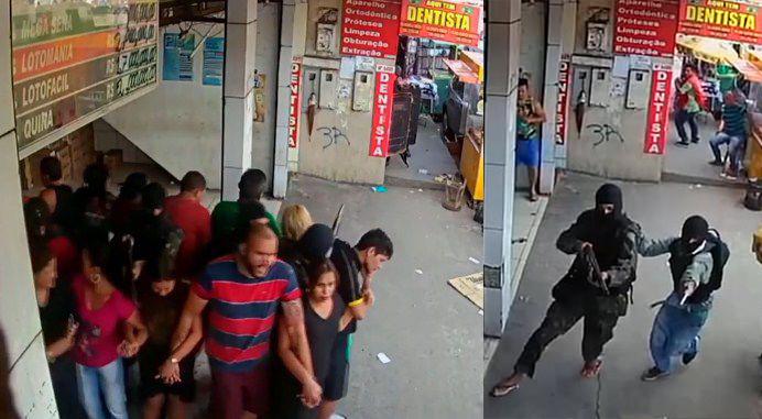 Video violencia criminales brasil