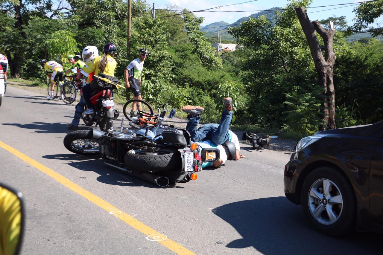 Vuelta Ciclística caída Dave Christensen Estados Unidos Ciclismo
