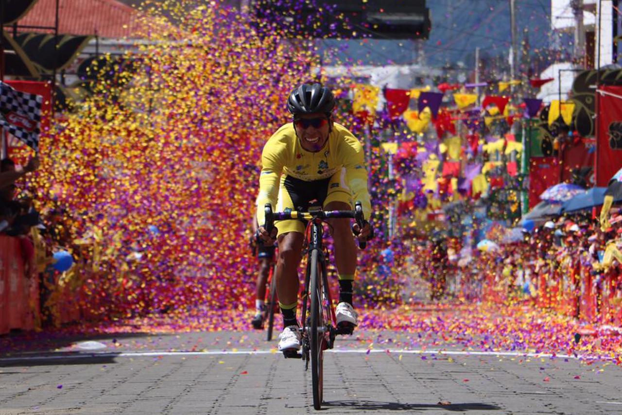 Alfredo Ajpacajá Decorabaños Vuelta Ciclística San Pedro Sacatepéquez San Marcos