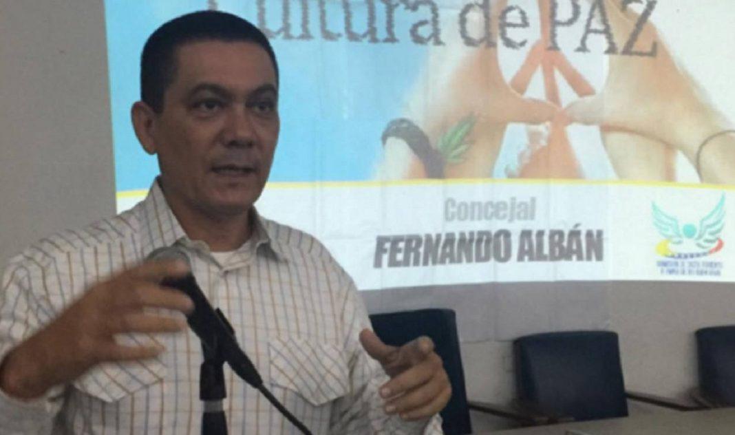 Concejal acusado de atentado contra Maduro