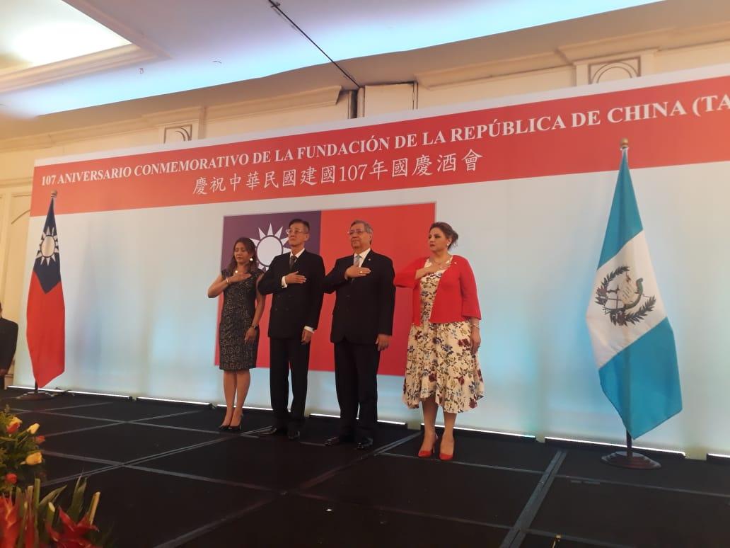 China-Taiwán y su celebración de 107 años de fundación