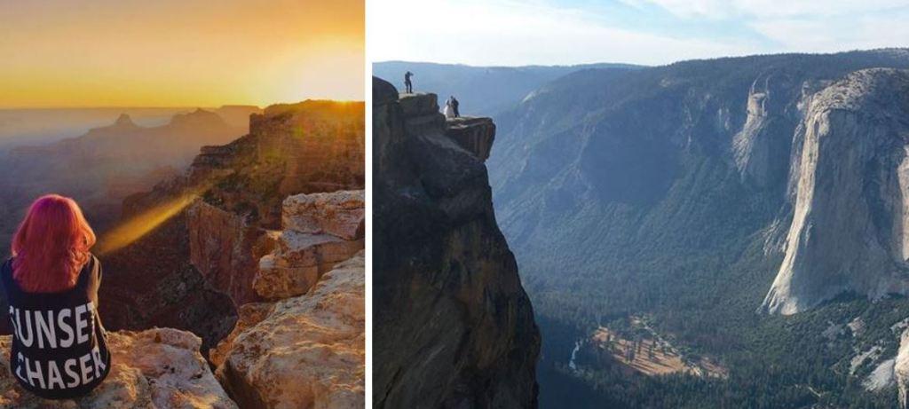 Instagramers blogueros mueren California Parque Nacional Yosemite