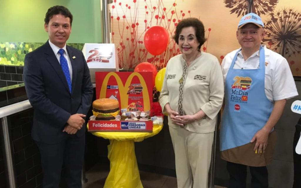 Yolanda de Cofiño McDonald's