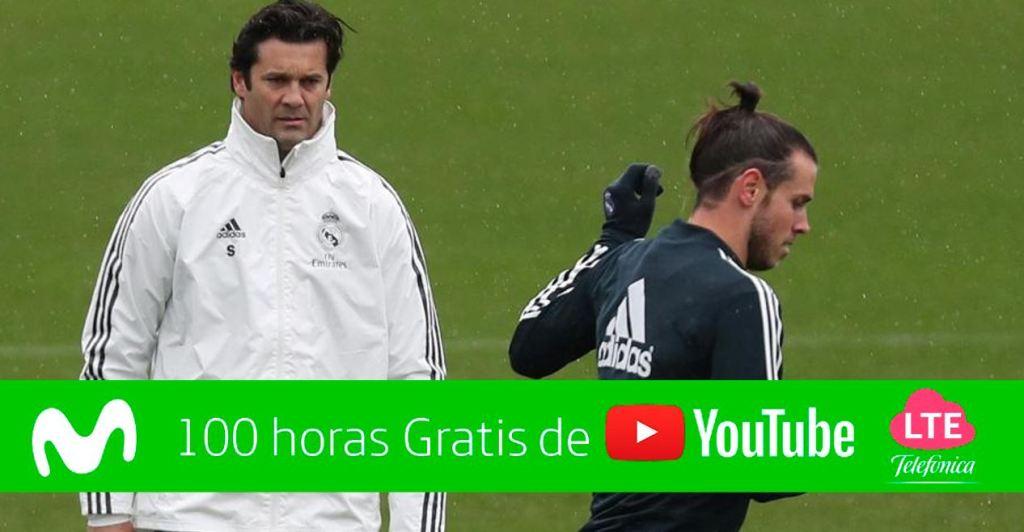 Solari entrenamiento Real Madrid
