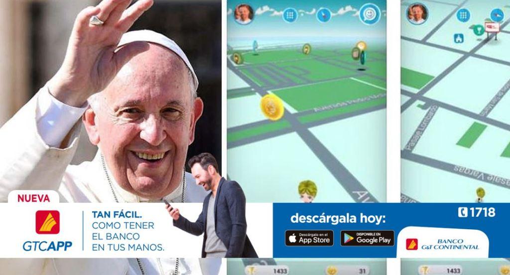 Papa Francisco videojuego Follow JC Go Pokémon Go