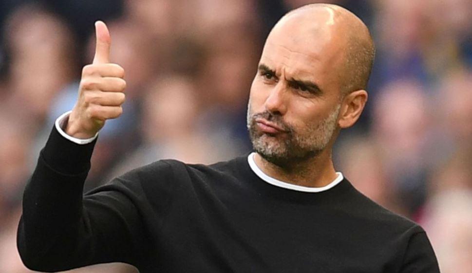 Pep Guardiola Champions League Manchester City