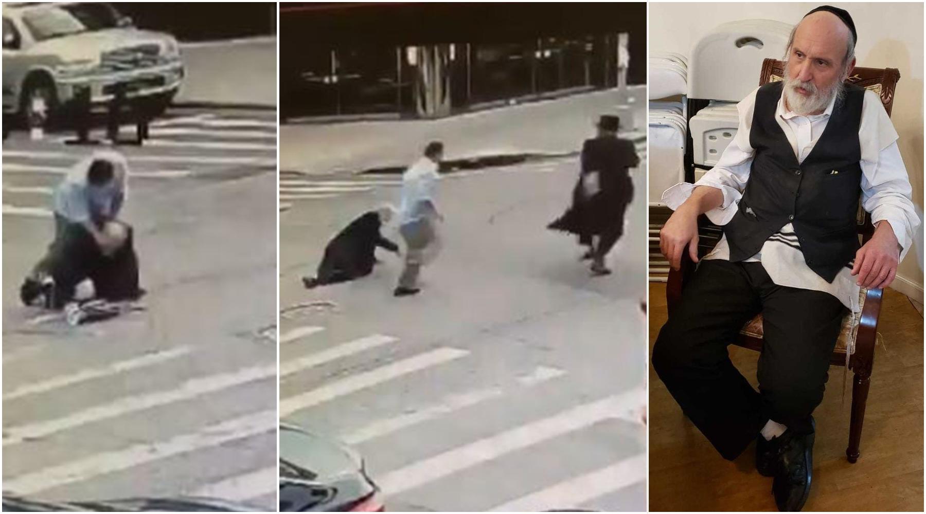 crimen de odio agresión nueva york judío ortodoxo