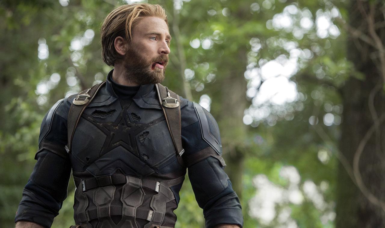 Chris Evans Capitán América Avengers 4 Marvel