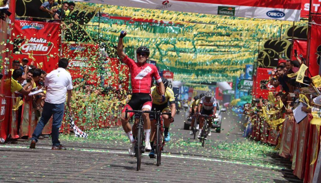 Vuelta Ciclística Guatemala ganadores primera etapa Guastatoya 23 de octubre 2018