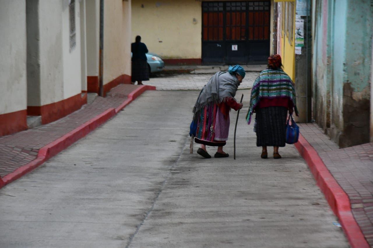 Frente Frío bajas temperaturas Quetzaltenango