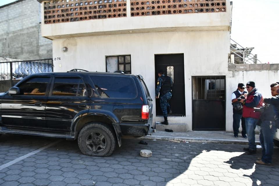 droga Cocaína allanamientos Quetzaltenango