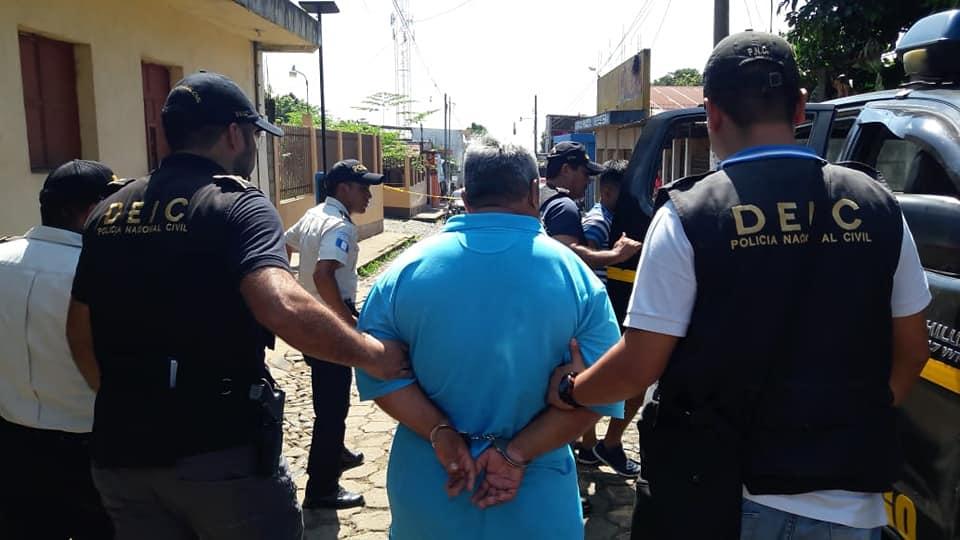 Coatepeque Quetzaltenango allanamiento