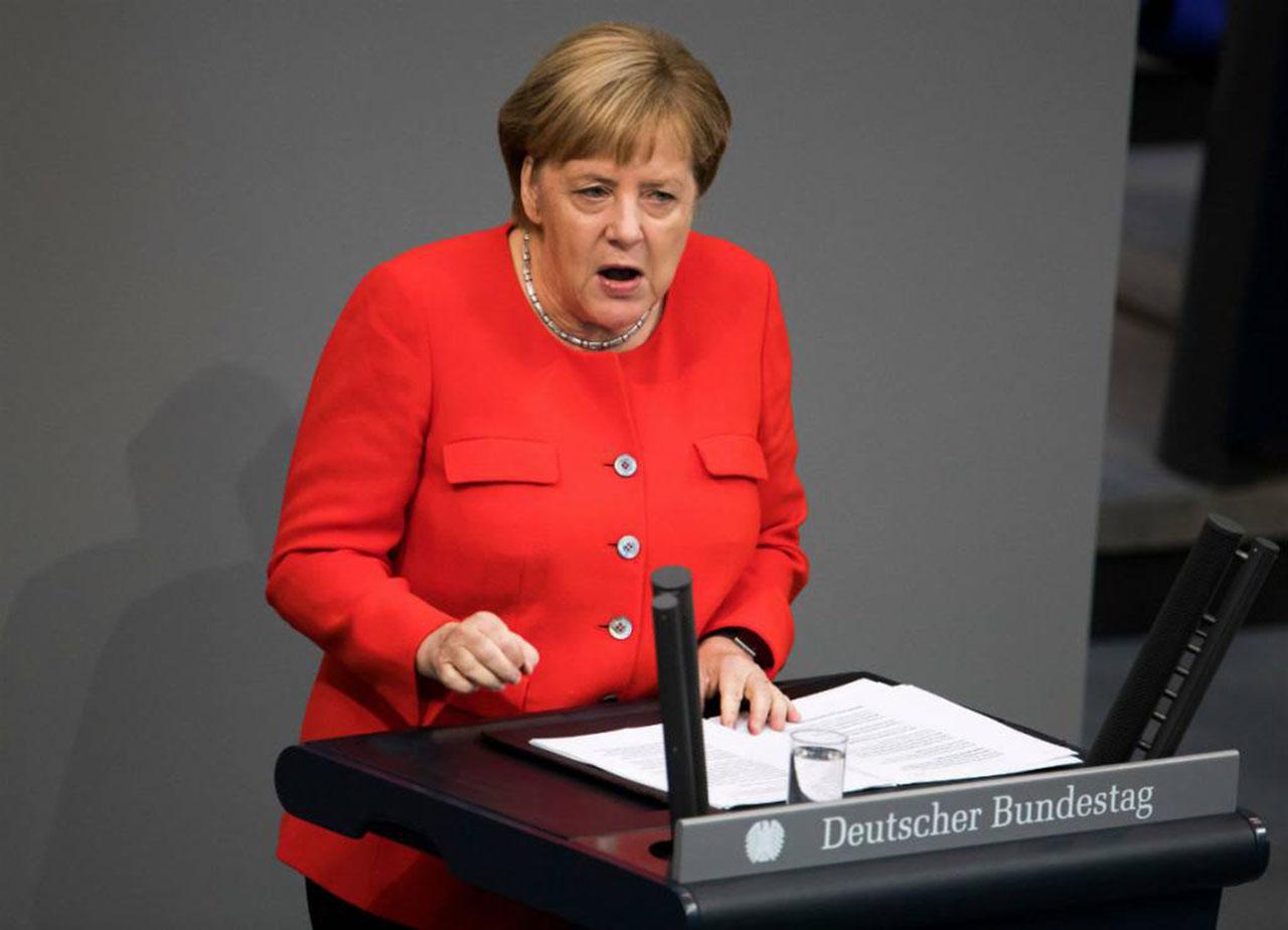 Angela Merkel canciller alemana