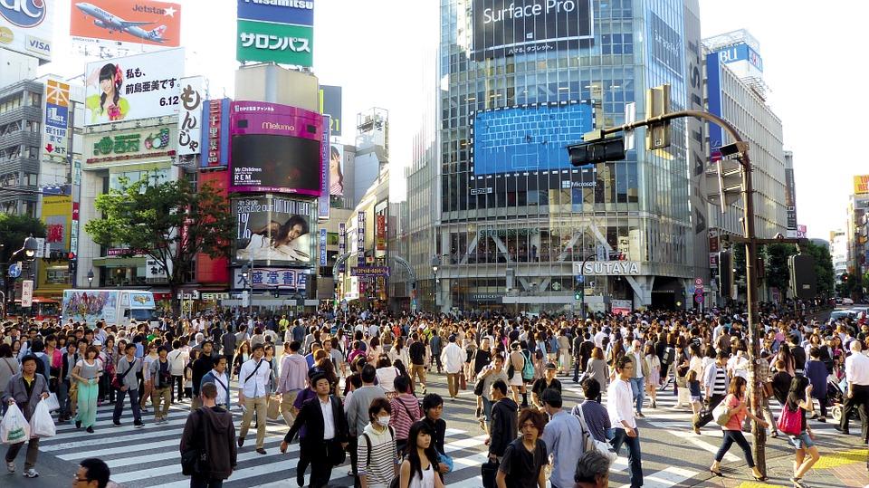 El calor y los tifones en Tokio