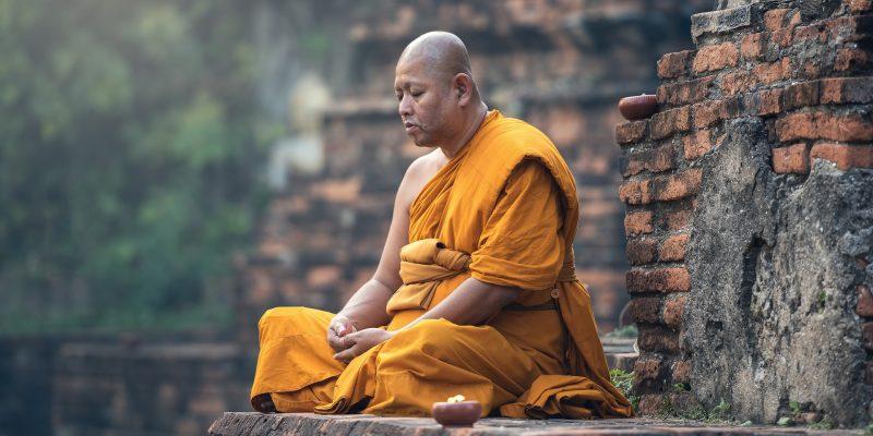 Por qué Los monjes de Tailandia