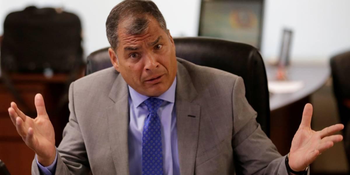 Rafael Correa pide asilo