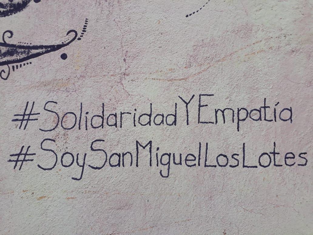 solidaridad con afectados por Volcán
