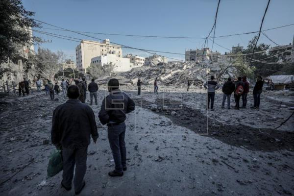 Siete muertos en Gaza