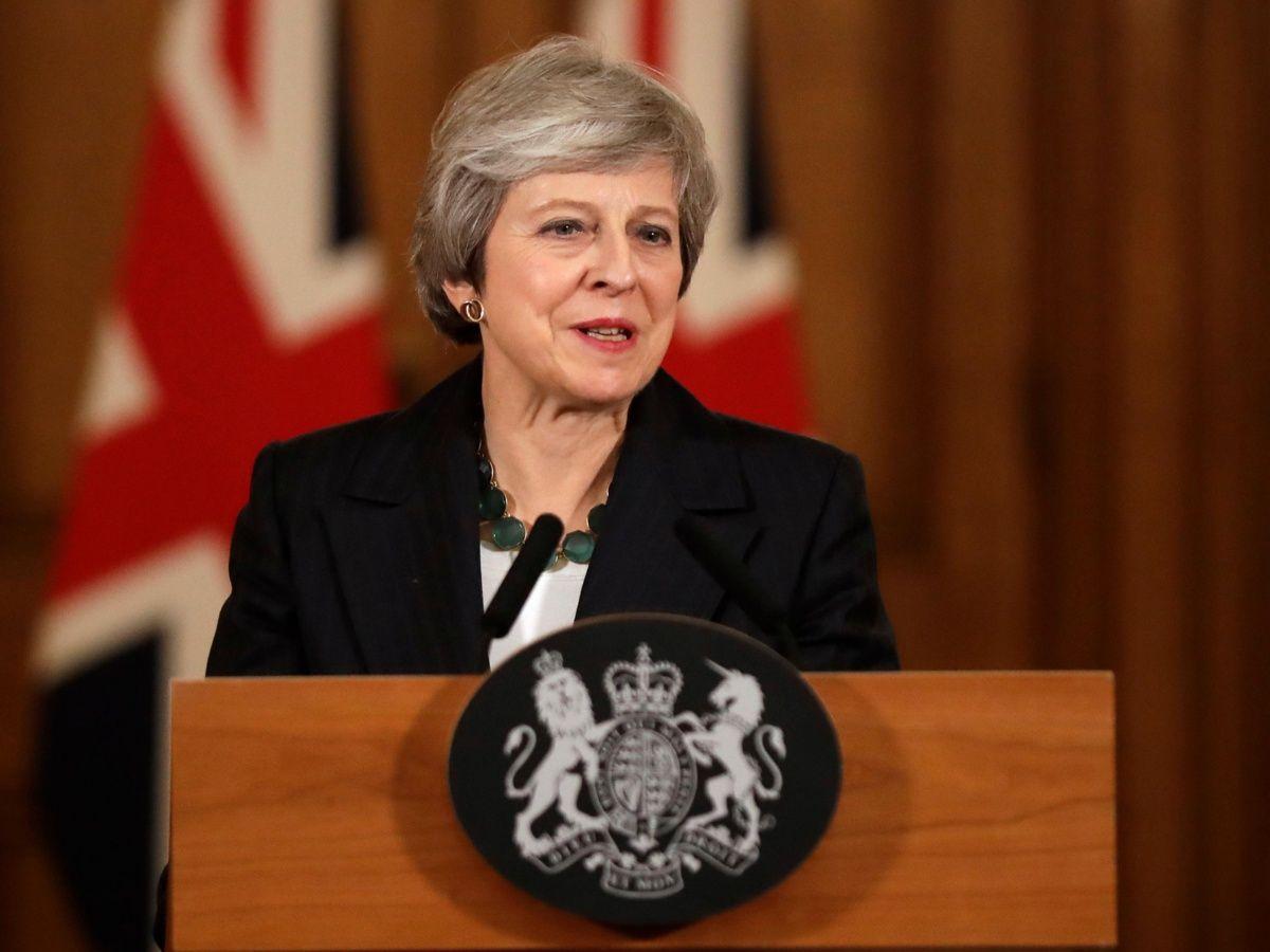 Theresa May recibe apoyo
