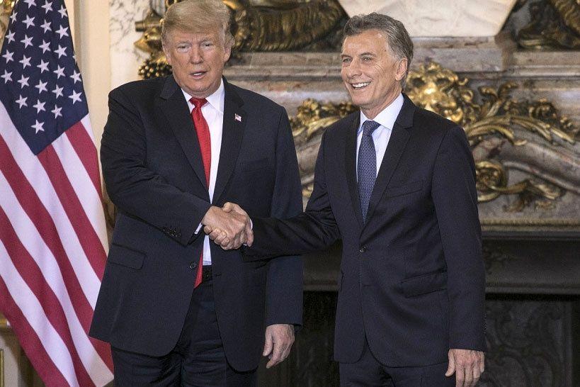 Trump se reúne con Macri