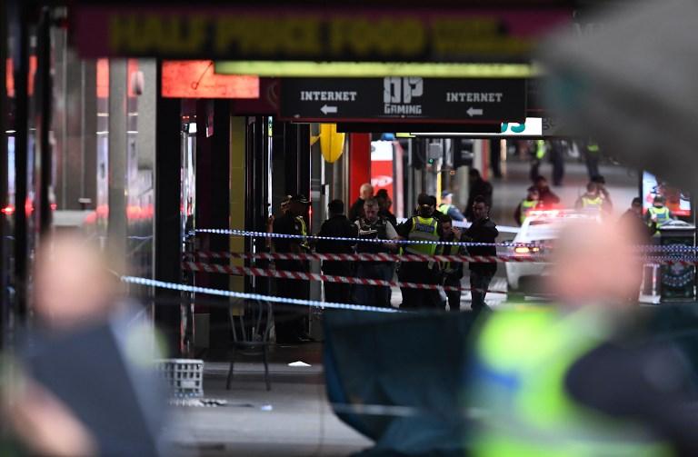 Un ataque terrorista con cuchillo-Foto AFP-003