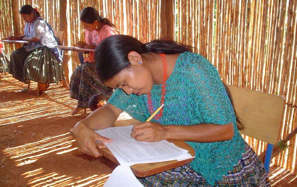 analfabetismo occidente Guatemala educación