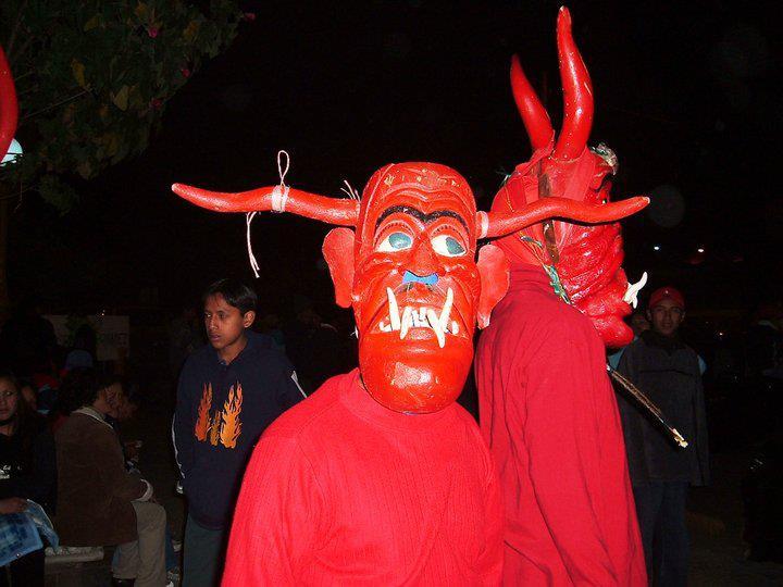 Corrida de diablos San Marcos