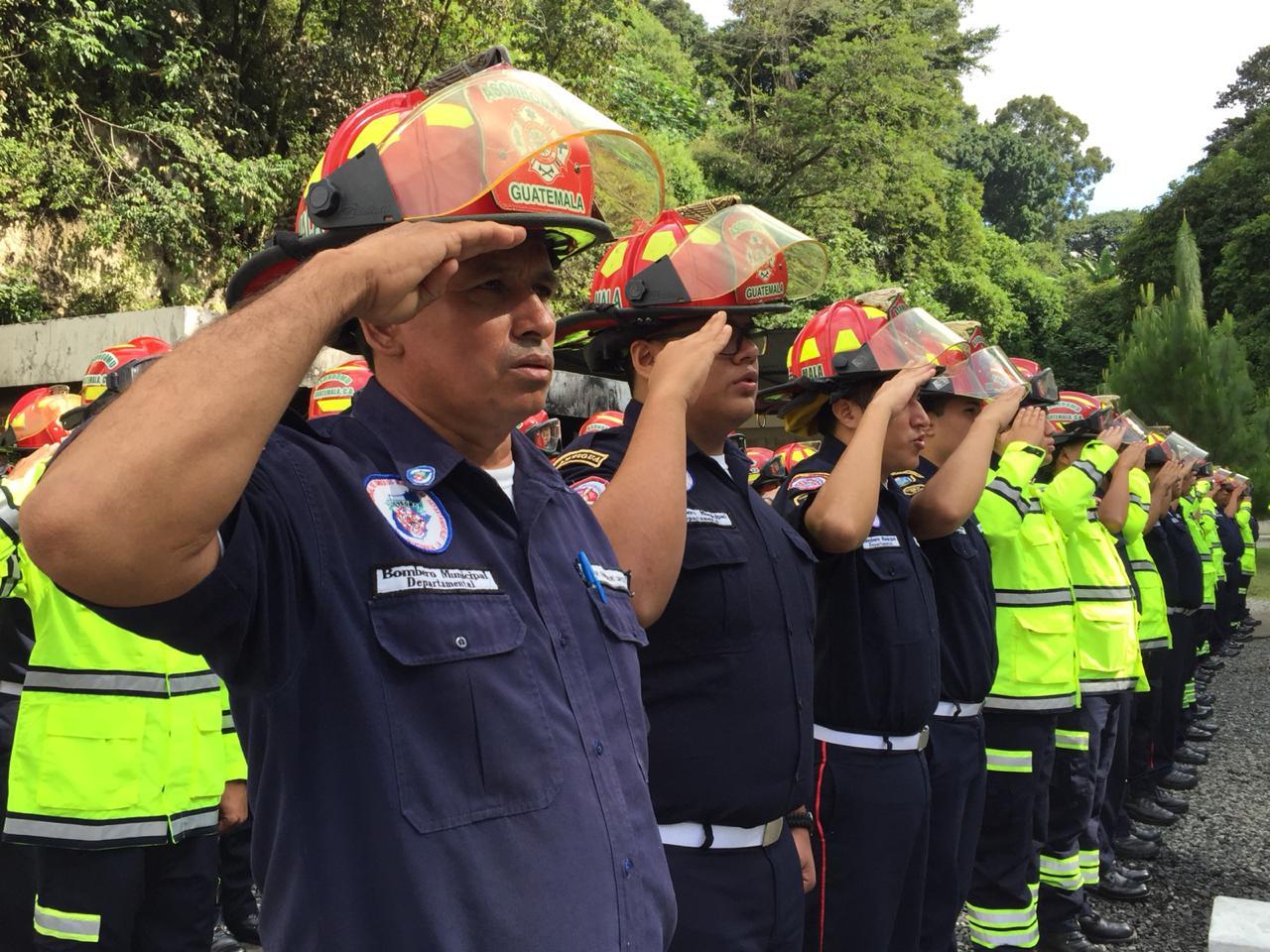 Volcán de Fuego y la experiencias de bomberos
