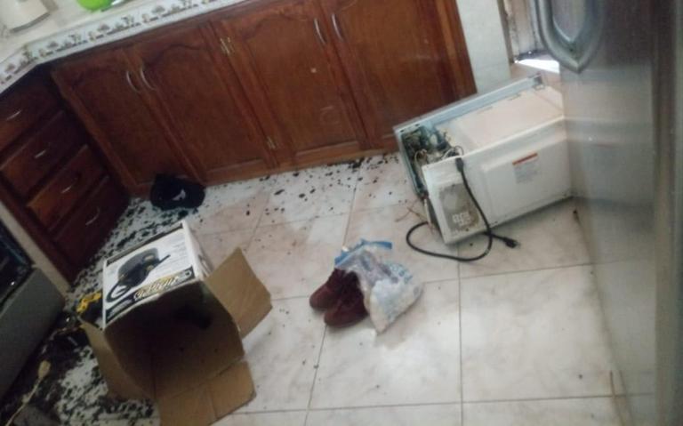 muere horno microondas palomitas morelia México
