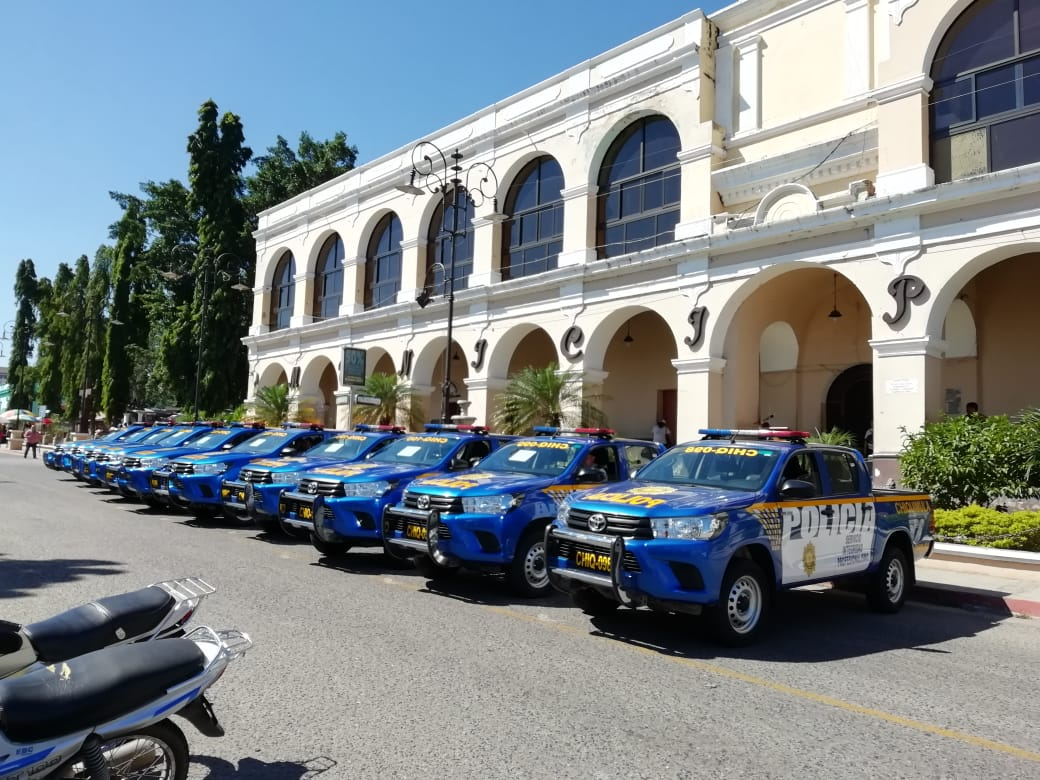Chiquimula patrullas nueva Policía Nacional Civil Yuri Orlando Ramírez