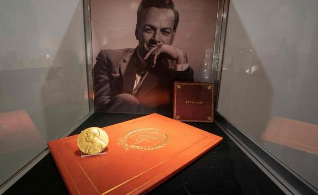 Premio Nobel de Física Estados Unidos Medalla