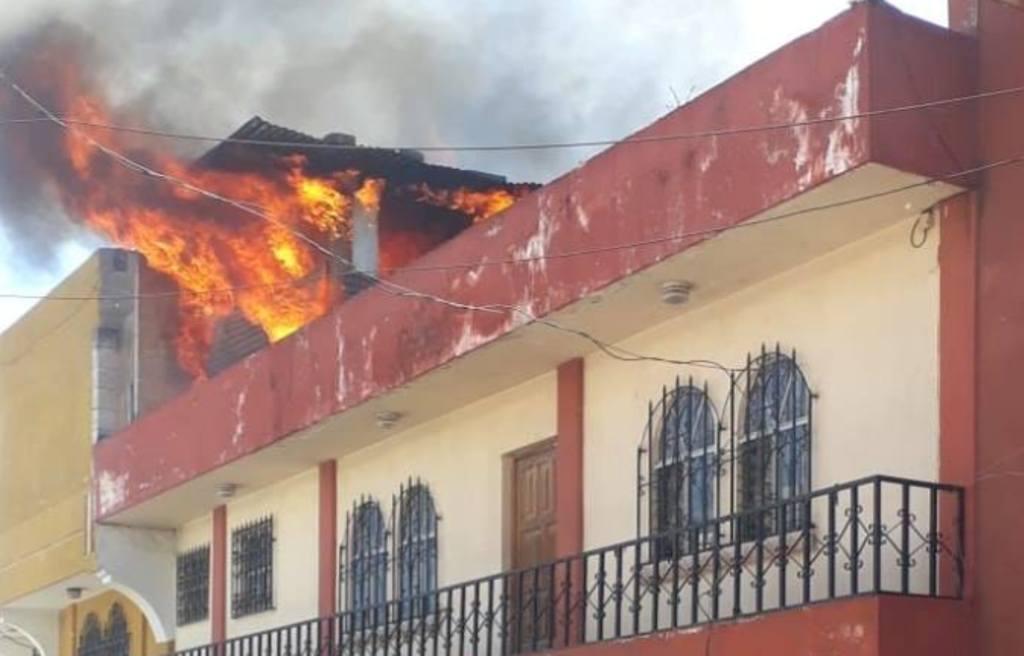 Incendio Quetzaltenango cortocircuito ropa típica Salcajá 12 noviembre 2018