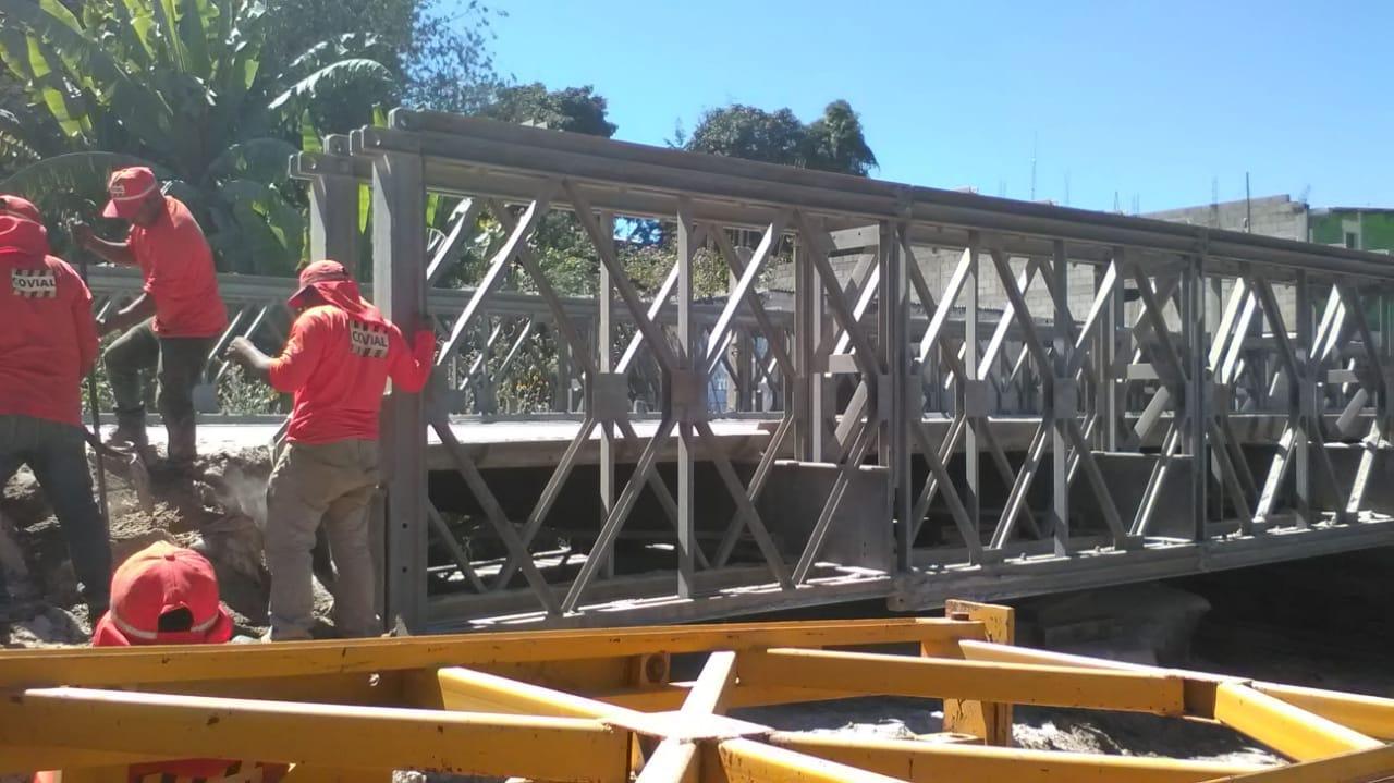 Puente Bailey Chiche Quiché