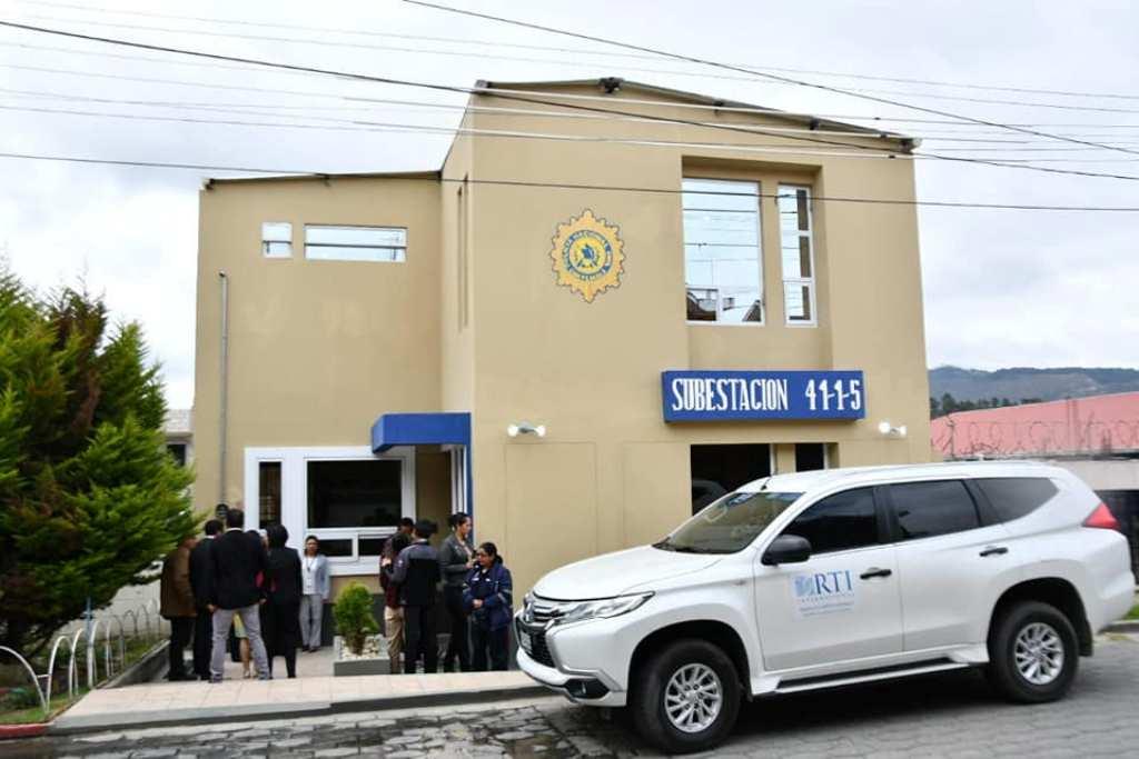 Quetzaltenango subestación PNC guardería infantil 21 noviembre 2018
