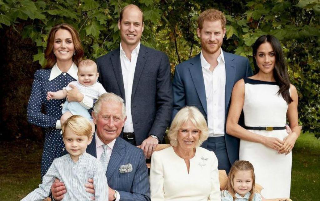 Duques Cambridge Sussex Navidad