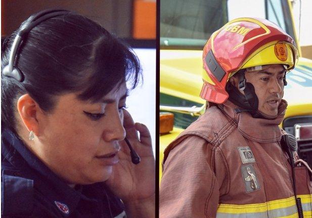 llamadas bomberos