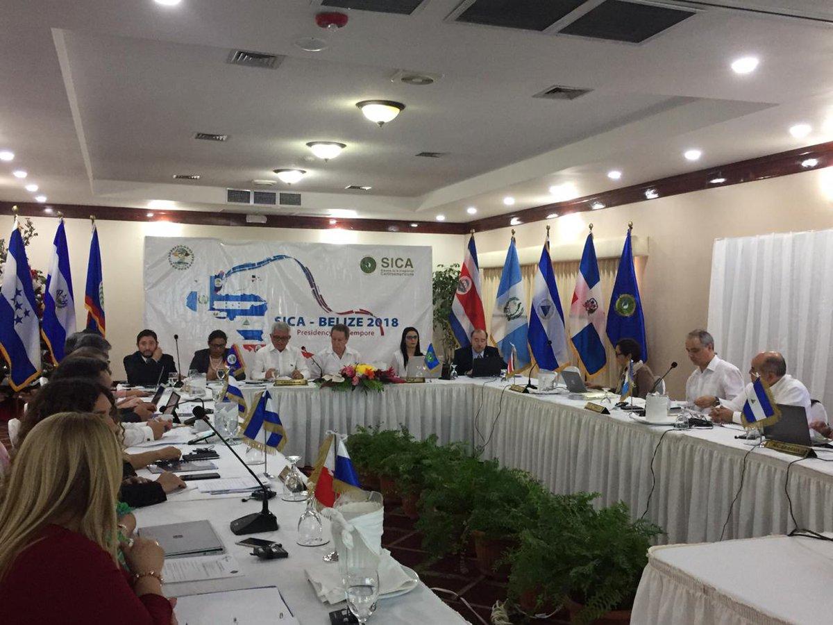 del Sistema de la Integración Centroamericana, SICA,