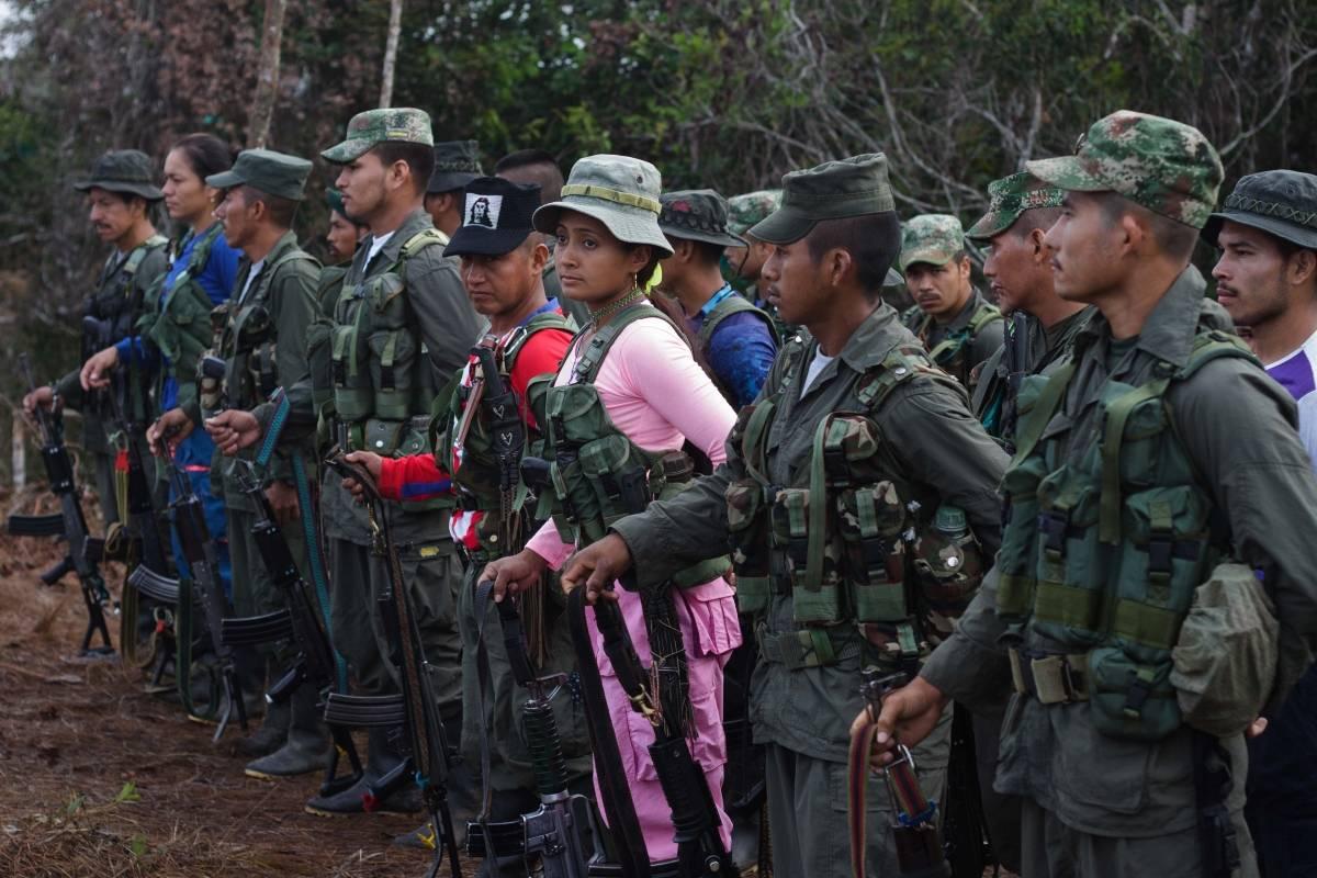 Mujeres de las FARC
