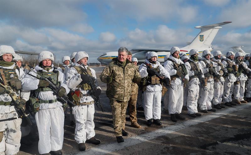 OTAN enviará a Ucrania equipos de comunicación