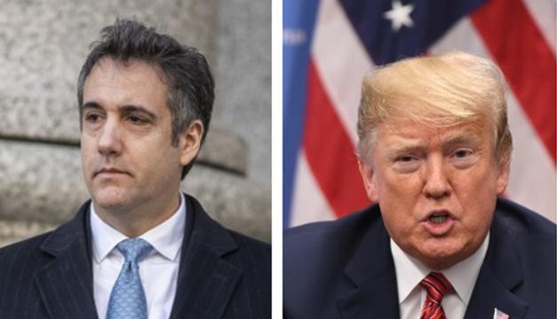 Trump pide que su exabogado Michael Cohen cumpla una pena
