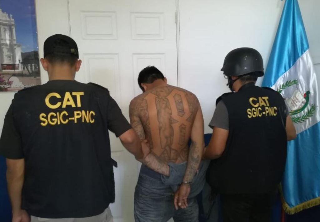 El Flaco capturado pandilla frontera México