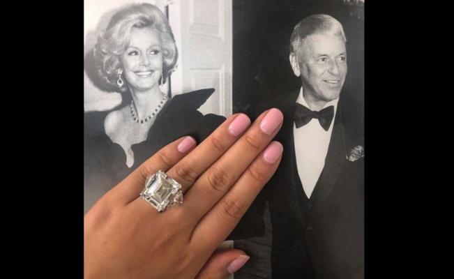 Frank Sinatra joyas Barbara Nueva York