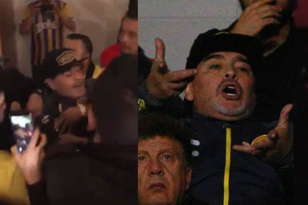 Maradona Dorados insultos agresiones
