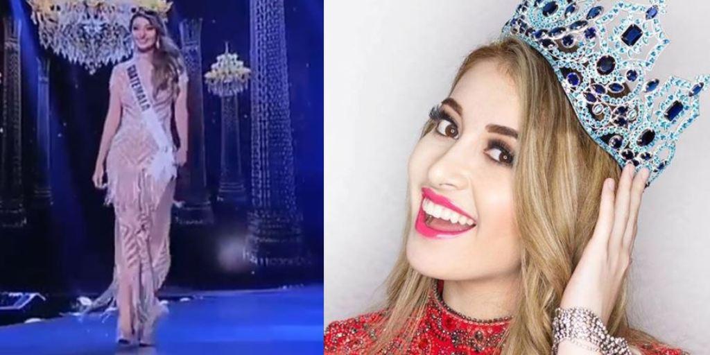 Miss Guatemala Mariana García vestuario