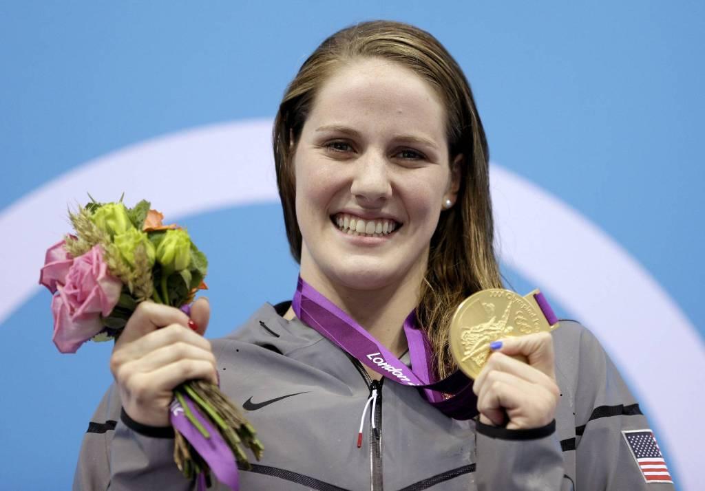 Missy Franklin campeona olímpica natación retiro